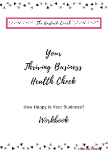 Cover of Your Thriving Business Workbook